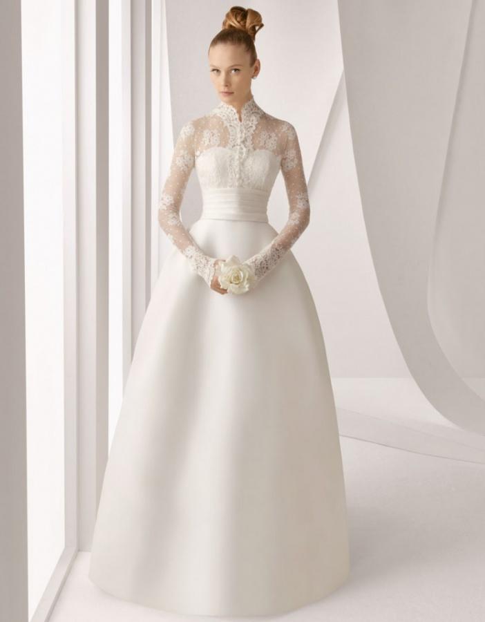 Long-Sleeve-Wedding-Dresses-2013-g 70 Breathtaking Wedding Dresses to Look like a real princess