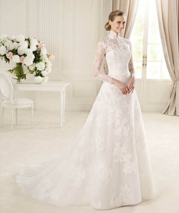 Long-Sleeve-Wedding-Dresses55 70 Breathtaking Wedding Dresses to Look like a real princess