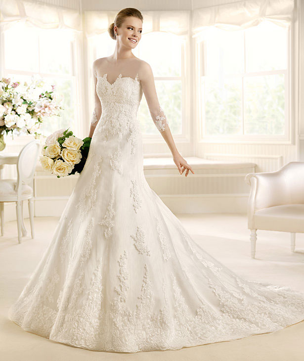 Mayo-La-Sposa-2013-COSTURA-Bridal-Gown 70 Breathtaking Wedding Dresses to Look like a real princess
