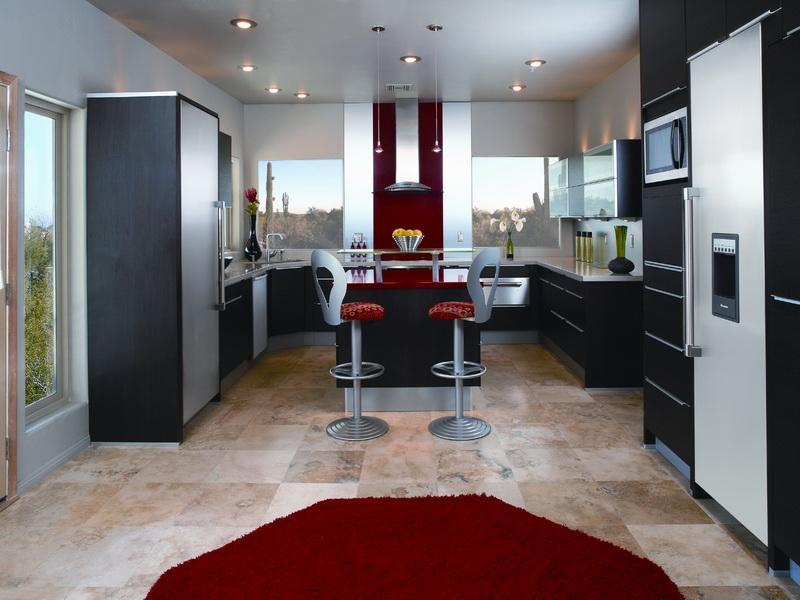 Modern-Galley-Kitchen-Designs Frugal And Stunning kitchen decoration ideas