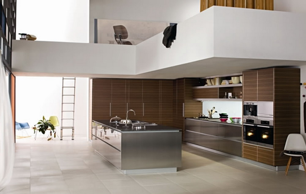 Modern-Kitchen-Design-2013 Frugal And Stunning kitchen decoration ideas
