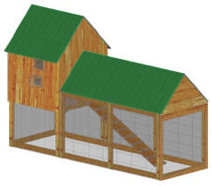 My-favourite-coop How to Build Your Own Inexpensive Chicken Coop Easily
