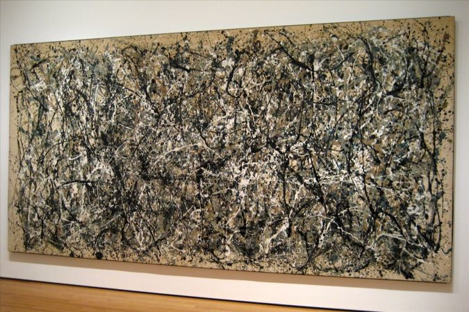 Number-5-1948 TOP 10 Most Expensive Paintings in The World