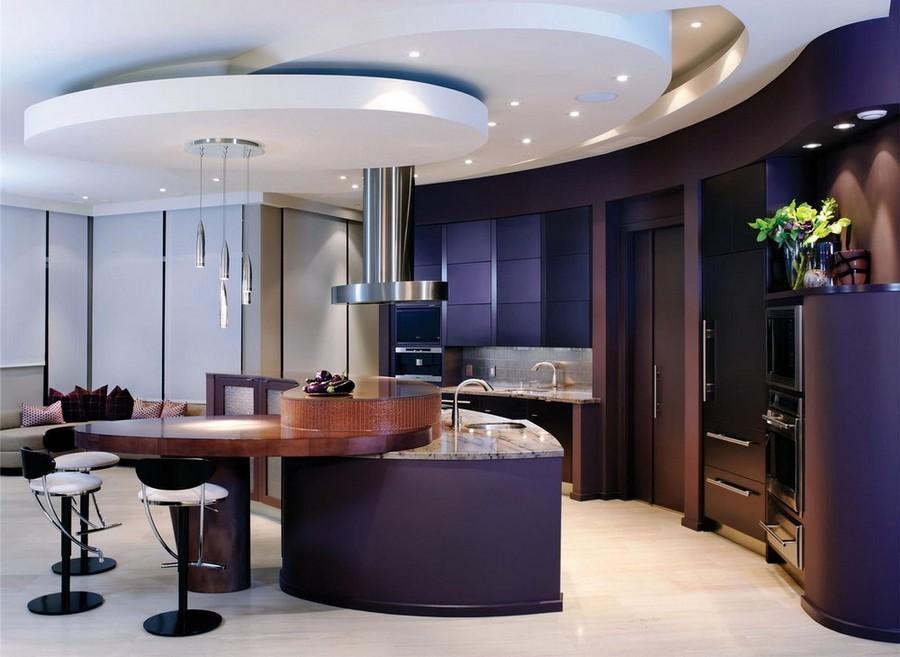 Open-Contemporary-Kitchen-Design Frugal And Stunning kitchen decoration ideas