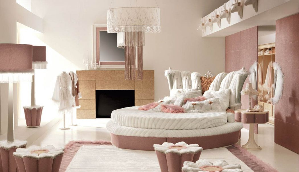 PinkSuperbDeluxeBedroomInspirationforGirls Girls' Bedroom Decoration Ideas and Tips