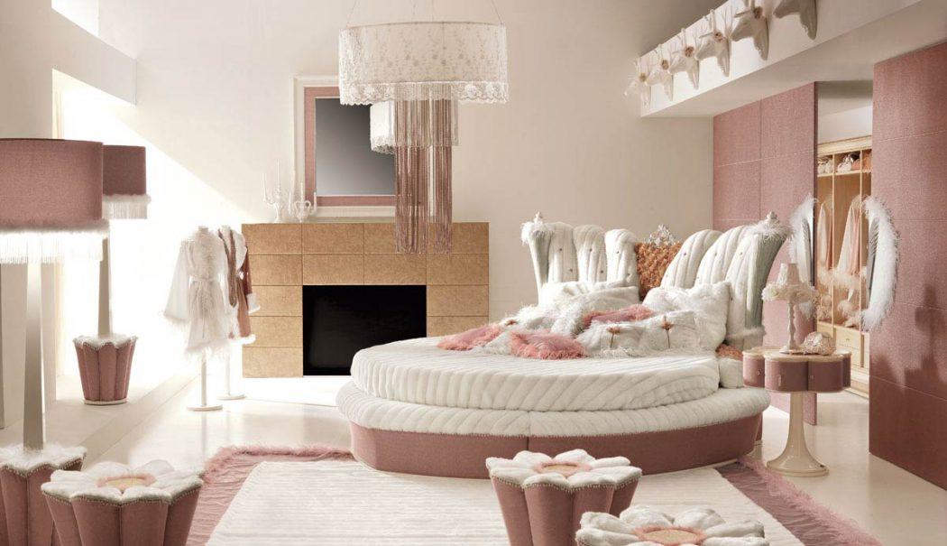 PinkSuperbDeluxeBedroomInspirationforGirls Girls' Bedroom Decoration Ideas and Tips