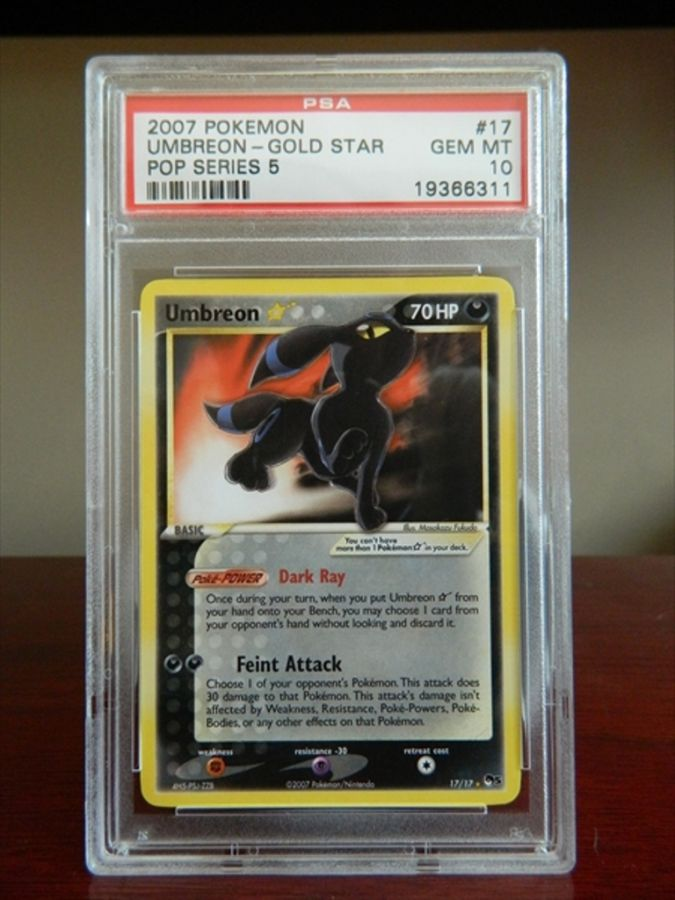 Pokemon-Fan-Club-Umbreon Top 5 Most Expensive Pokemon Cards Ever