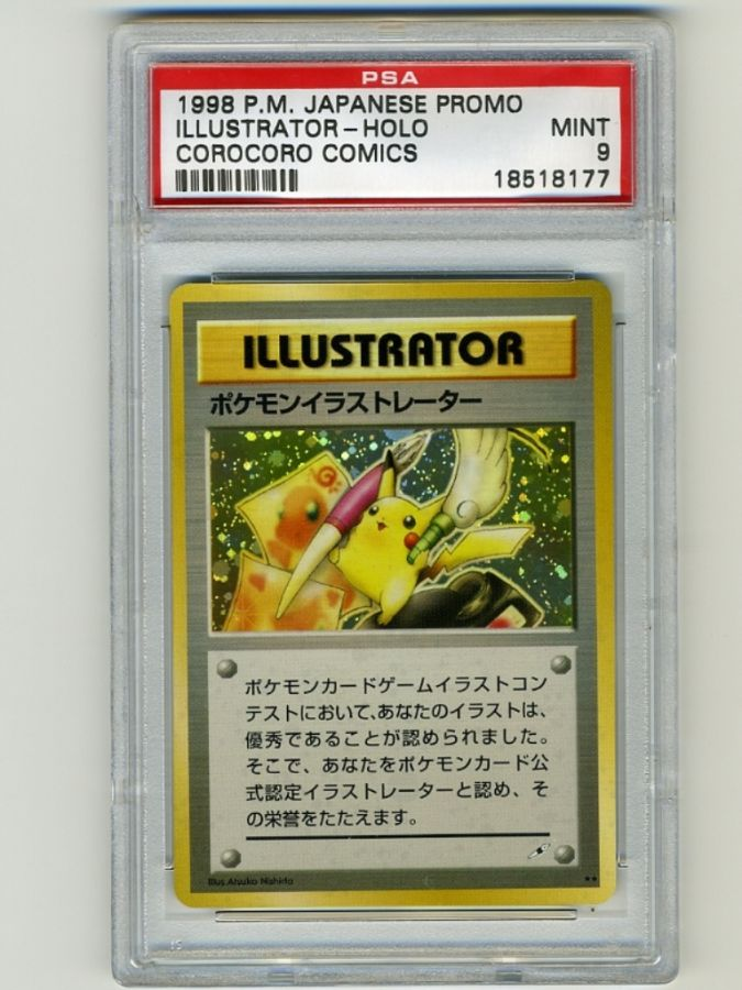Pokemon-Illustrator Top 5 Most Expensive Pokemon Cards Ever