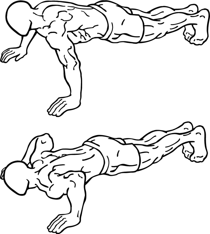 Push-up How to Lose Arm Fat