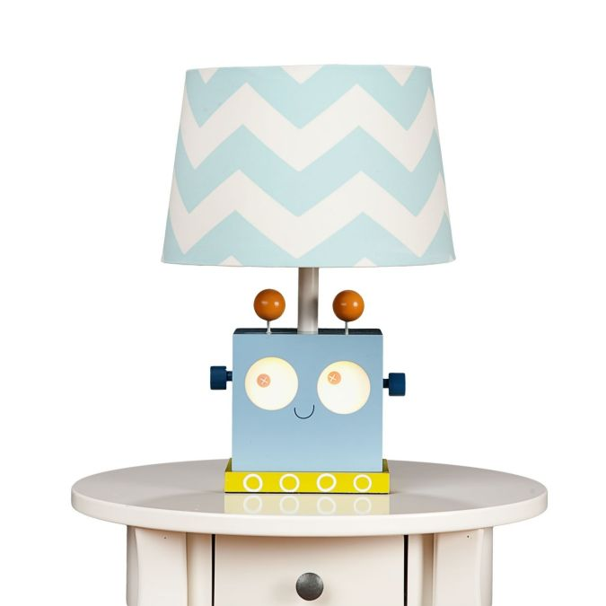 RobotLamp-nice 35 Amazing Robo Lamps for Your Children's Room