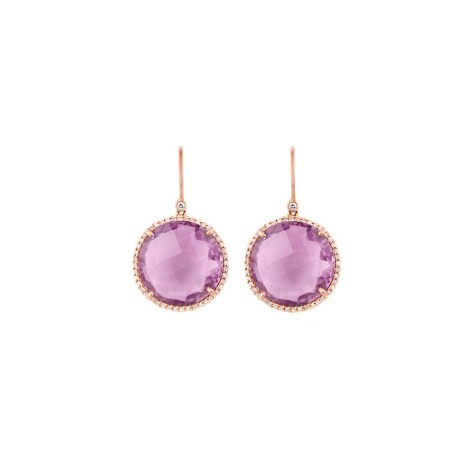 RoundAmethystDiamondEarrings-475x475 How To Use Earrings With Straight Hair, Tied or with Veil