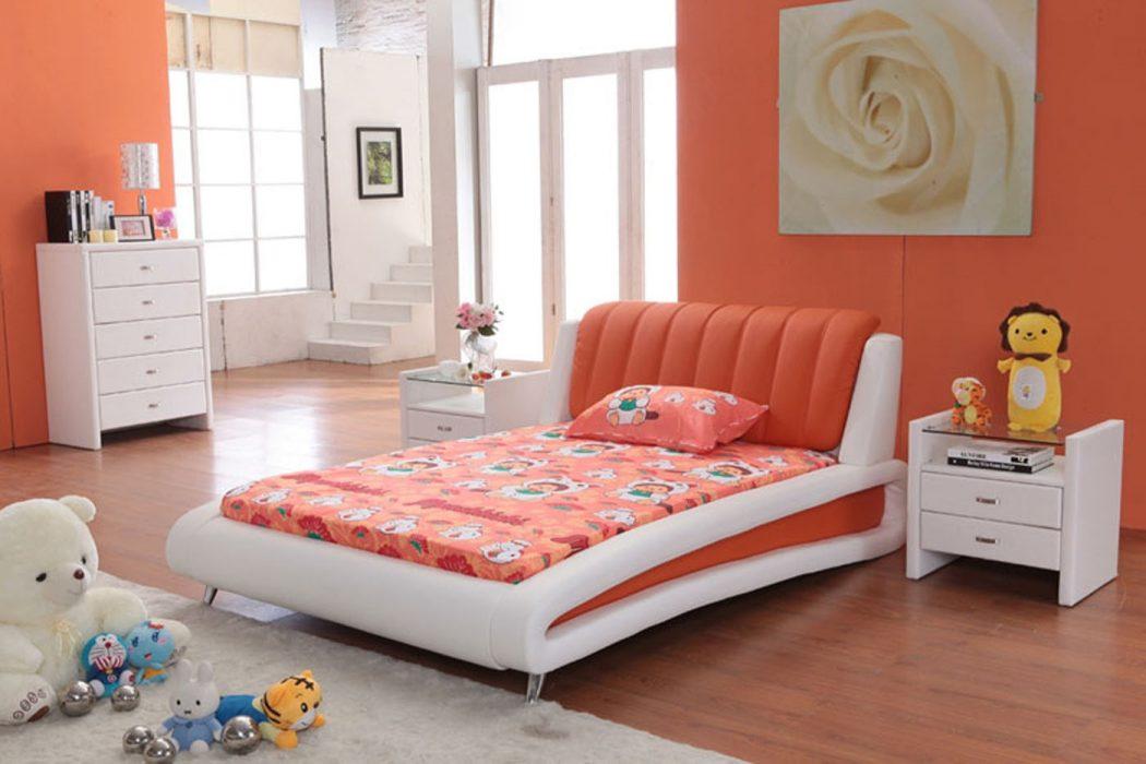 Sammy_Orange Fabulous Orange Bedroom Decorating Ideas and Designs