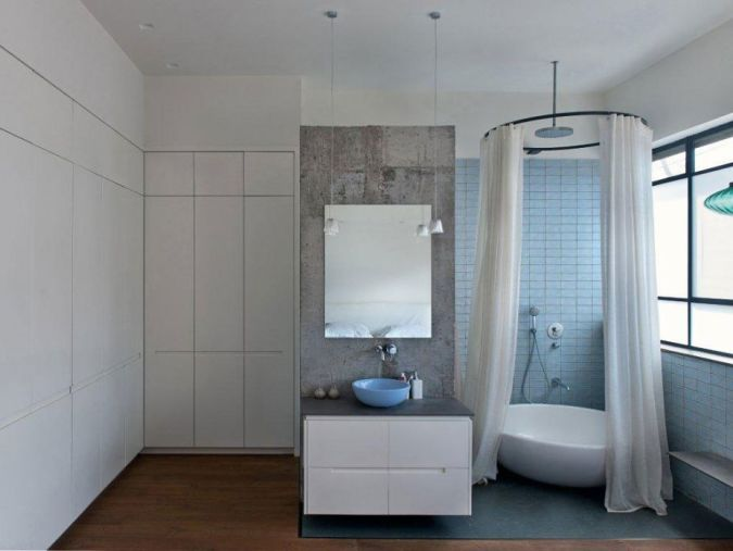 Simple-Bathroom-Remodeling-Design 20+ Awesome Images for the Latest Models of Curtains