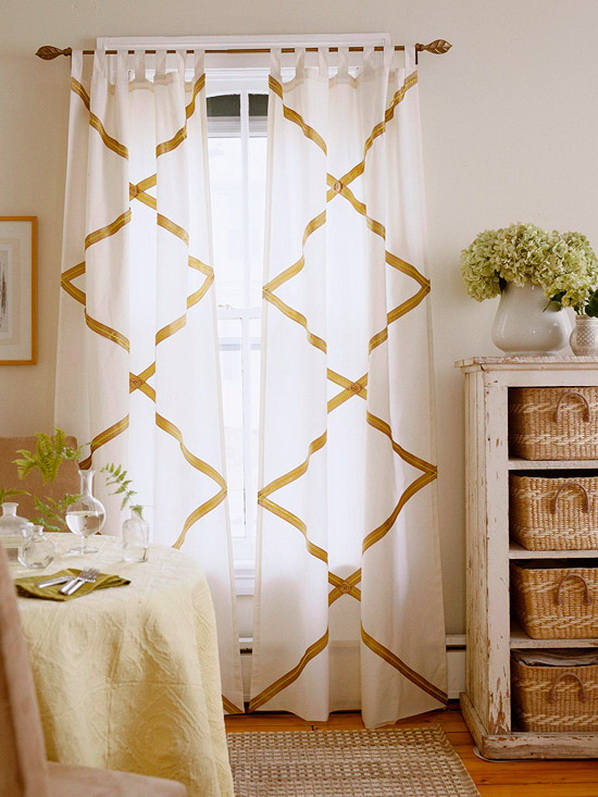 Simple-DIY-Curtains-and-Shades-2013_1 20+ Awesome Images for the Latest Models of Curtains