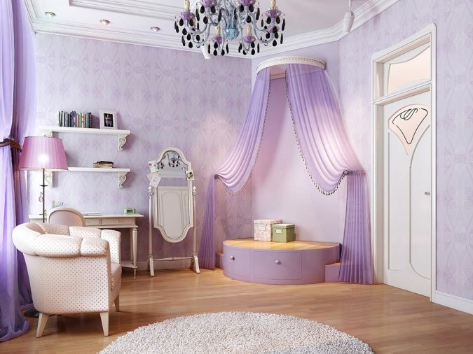 Sweet-curtain-idea-room-interior-design-interior 20+ Awesome Images for the Latest Models of Curtains