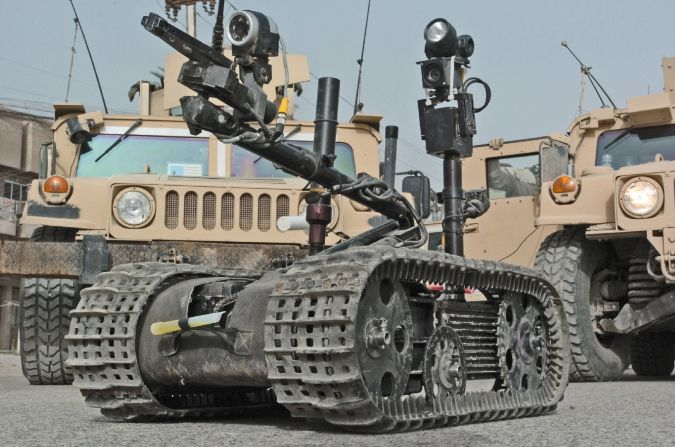 TALON. Which Robots Do We Use in Military Applications?