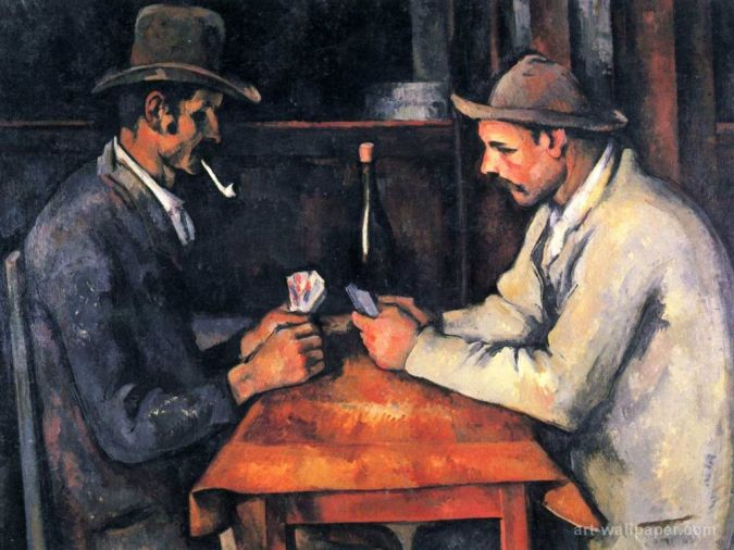 The-Card-Players TOP 10 Most Expensive Paintings in The World