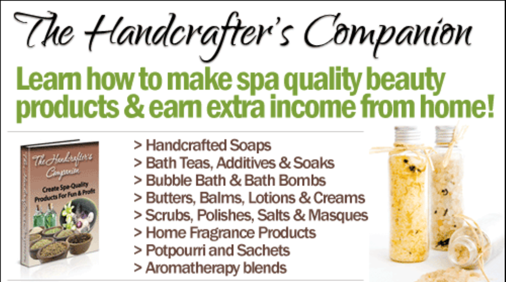 The-Handcrafters-Companion-Review Create Soothing Creams, Bath Bombs and Spa Products Like Professionals Using Handcrafter's Companion