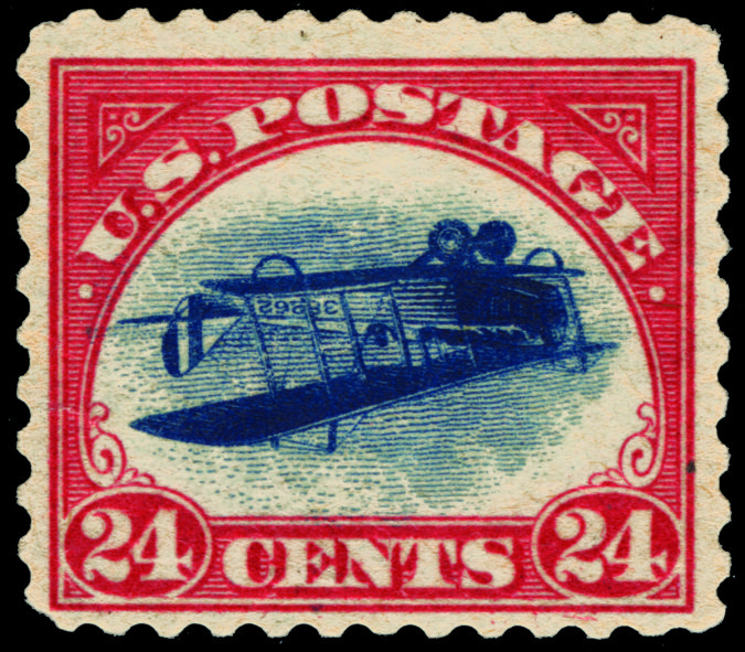 The-Inverted-Jenny Top 10 Most Expensive Stamps in the World
