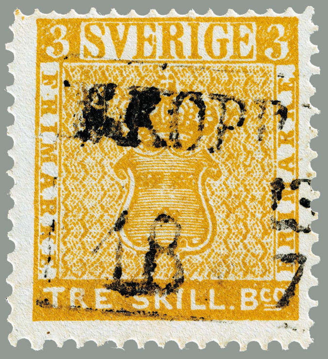 The-Treskilling-Yellow Top 10 Most Expensive Stamps in the World