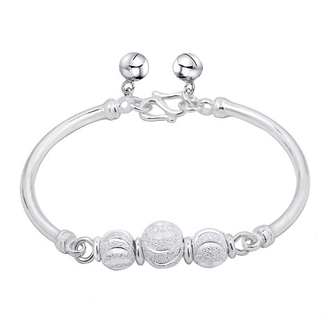 Three_Beads_Good_Luck_Sterling_Silver_Bangle_original_img_13485614134068_0_-475x475 How To Use Silver Accessories In Different Occasions ?
