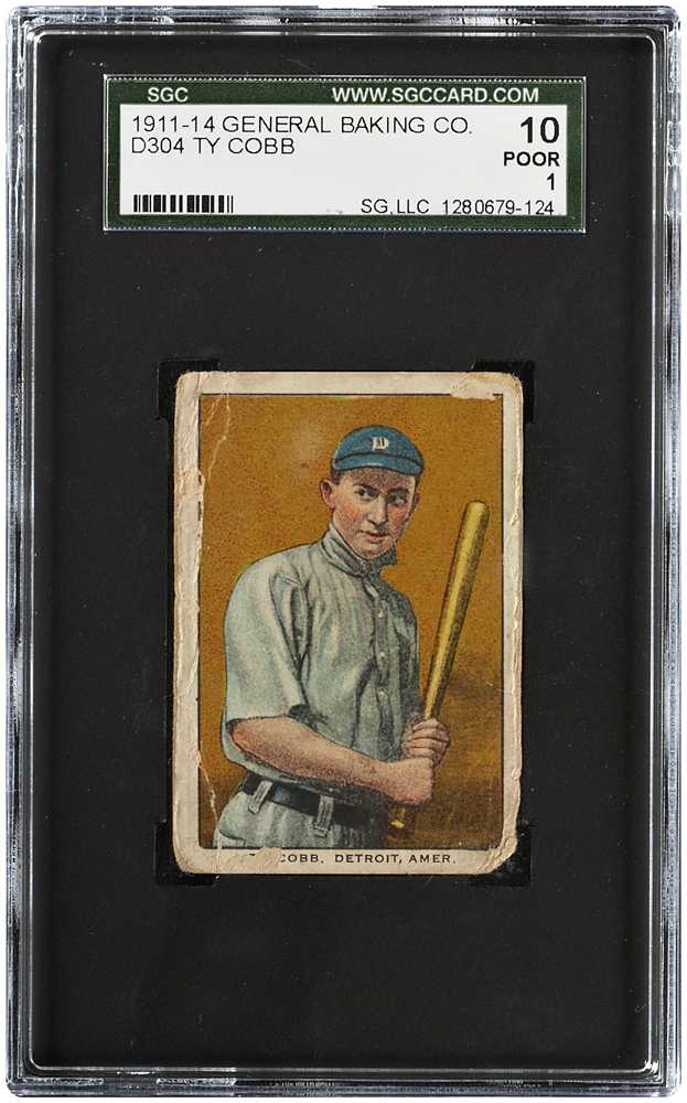 Ty-Cobb List of the World's 10 Most Expensive Baseball Cards