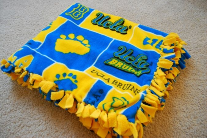 UCLA-blanket 23 Most Creative Handmade Gift Ideas