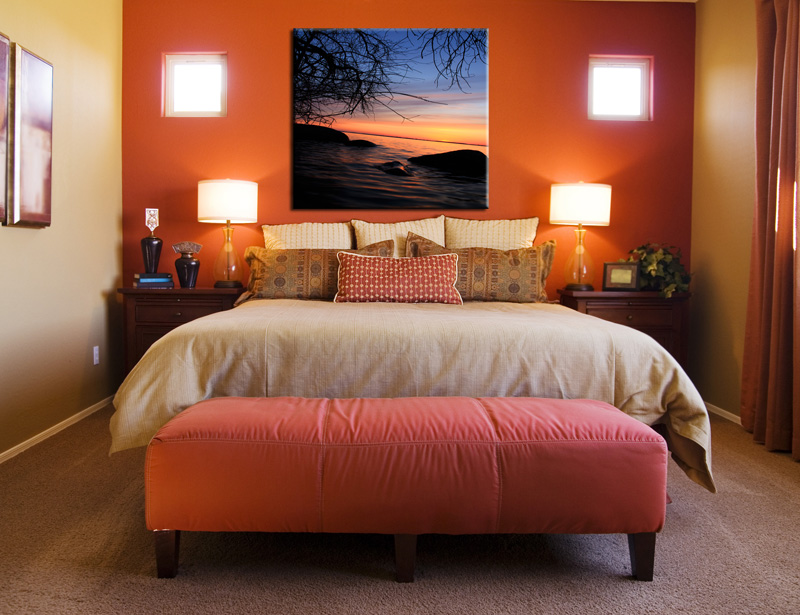 Untlold Fabulous Orange Bedroom Decorating Ideas and Designs