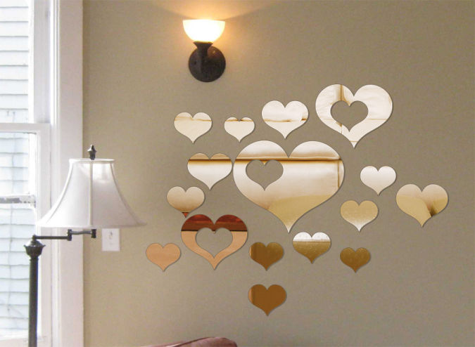 Wall-Mirror-Stickers-FA-023- Amazing and Catchy Wall Stickers for Home Decoration