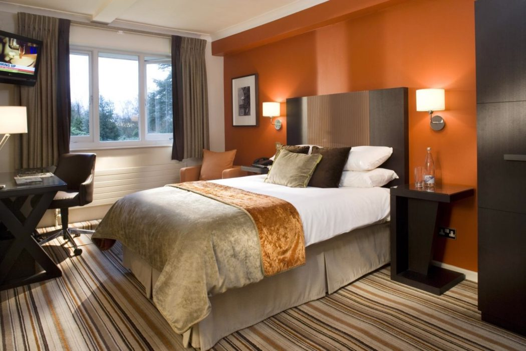 Warm-bedroom-paint-colors Fabulous Orange Bedroom Decorating Ideas and Designs