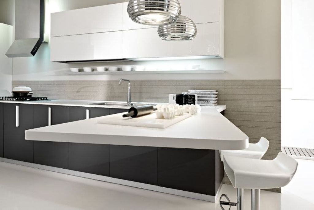 amazing-white-and-gray-superb-kitchen-design Awesome German Kitchen Designs