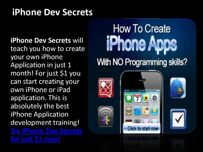 app-div Create Your iPhone or iPad App or Game the Easiest Way Using App Dev Secrets