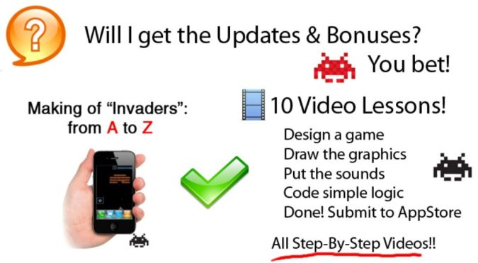 appdev_invaders Create Your iPhone or iPad App or Game the Easiest Way Using App Dev Secrets
