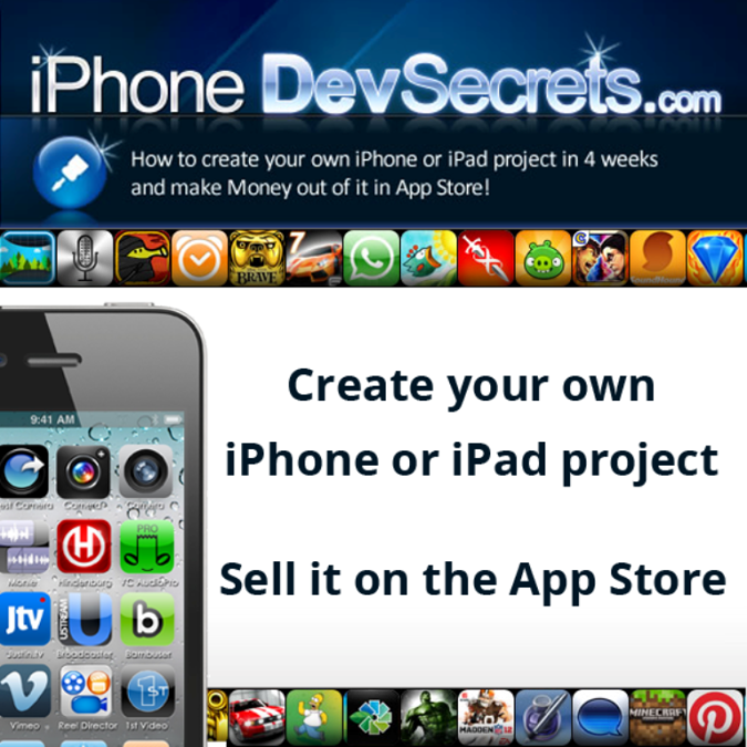 appdevsecrets Create Your iPhone or iPad App or Game the Easiest Way Using App Dev Secrets
