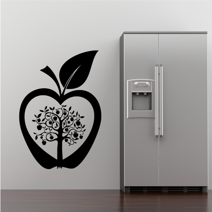 apple-tree1 Amazing and Catchy Wall Stickers for Home Decoration