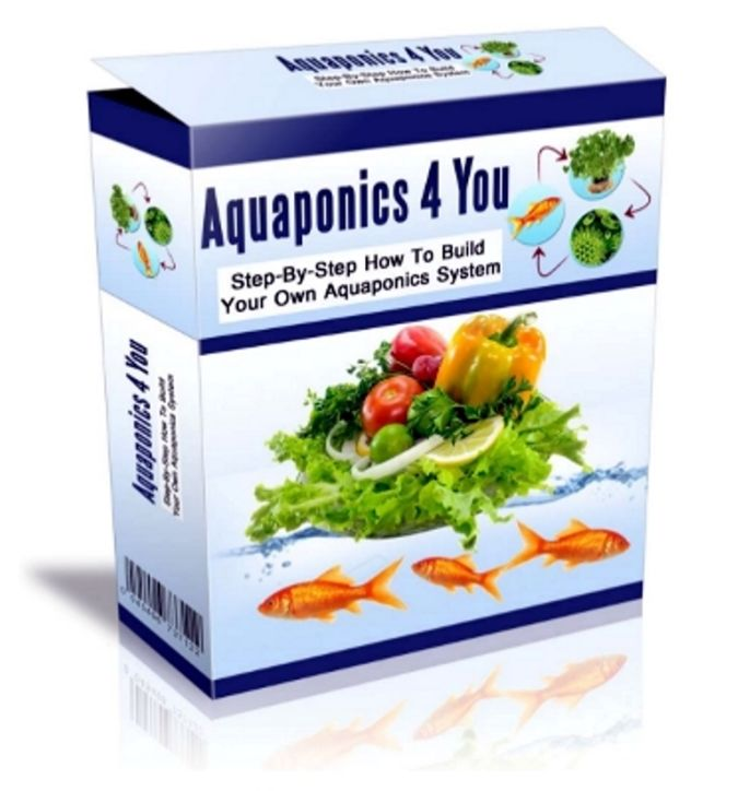 aquaponics-4-you-cover Organic Gardening Secret for Growing Plants Abundantly and Quickly