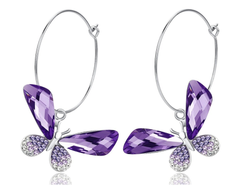 b8-475x377 How To Use Earrings With Straight Hair, Tied or with Veil