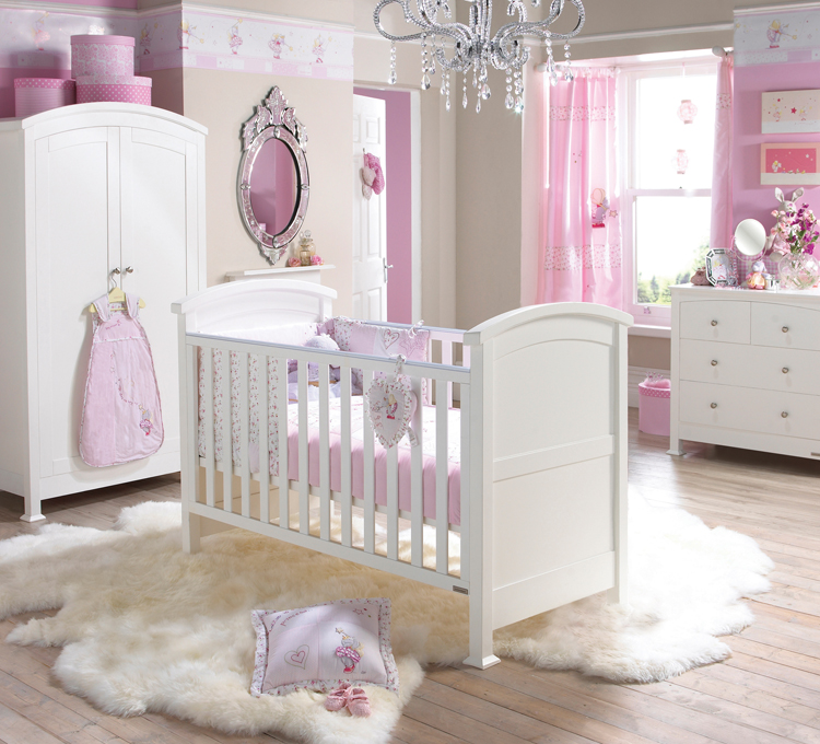 baby-girl-room-ideas-pinterest Girls' Bedroom Decoration Ideas and Tips