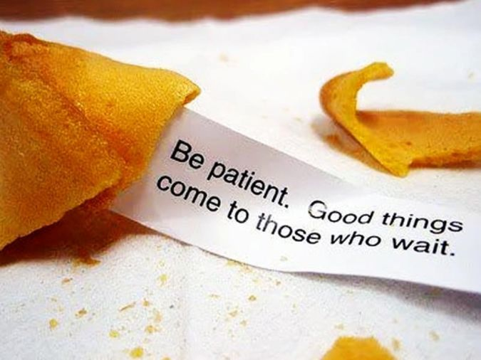 be_patient_lifequoteswallpaper How to Lose Pregnancy Weight