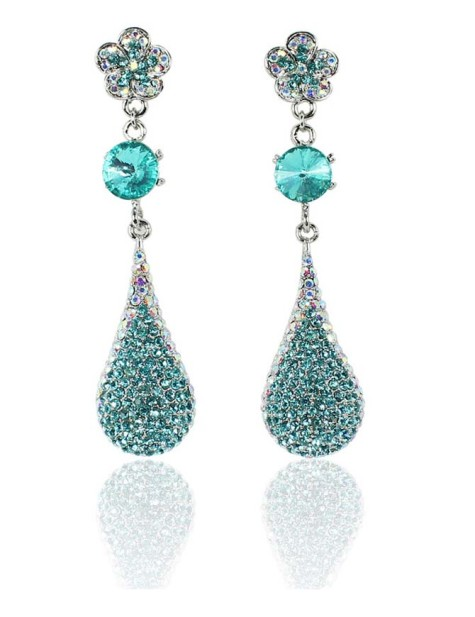 beautiful-blue-alloy-with-czech-rhinestones-and-acorite-wedding-earrings-61201-p201207261343265059028753883-475x617 How To Use Earrings With Straight Hair, Tied or with Veil
