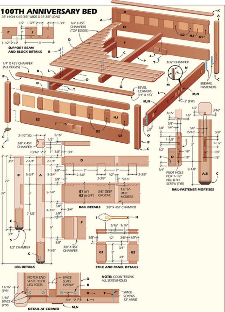 bed How to Build Woodworking Projects Quickly & Easily on Your Own?