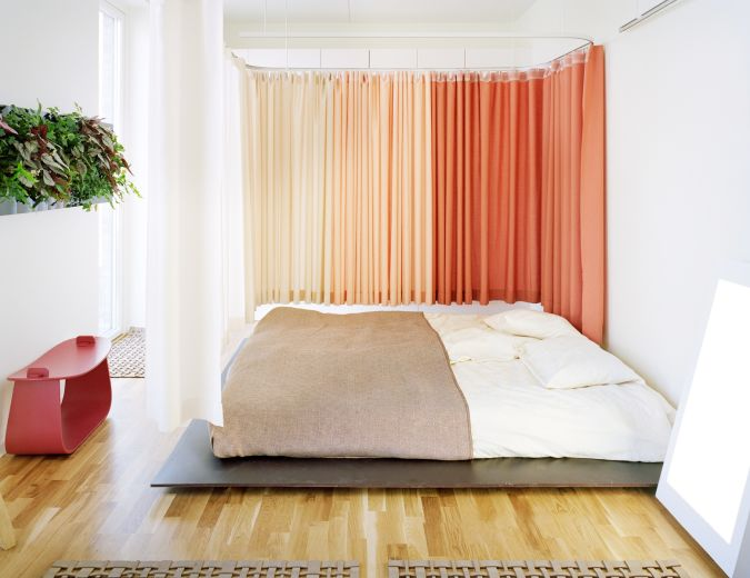 bedroom-drapes-cococozy 20+ Awesome Images for the Latest Models of Curtains