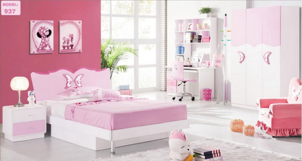 best-girls-bedroom-interior-design-picture Girls' Bedroom Decoration Ideas and Tips