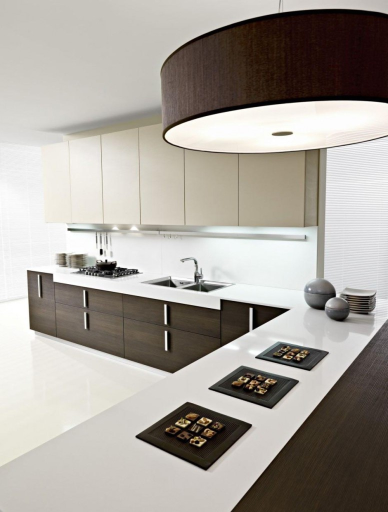 black-and-white-lavish-modern-italian-kitchen-cabinet-for-2013-design-ideas Breathtaking And Stunning Italian Kitchen Designs