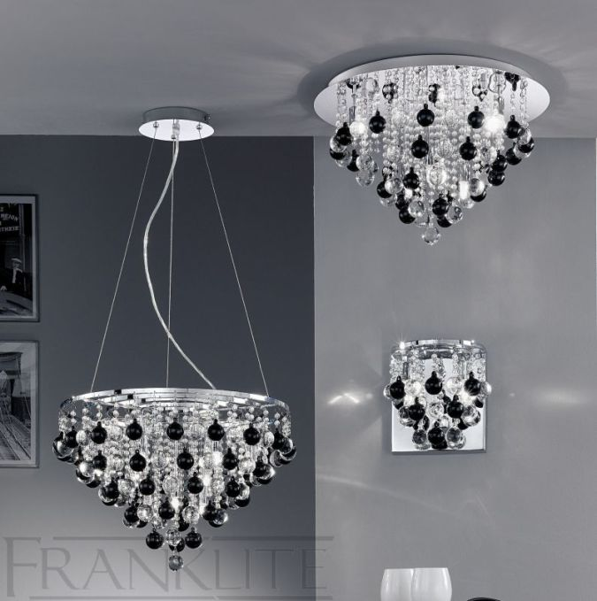 black-and-white2 Awesome and Dazzling Suspended Ceiling Decorations