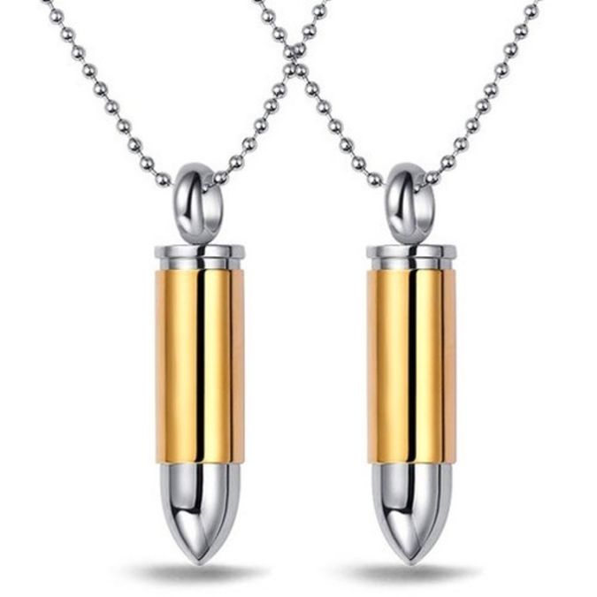 bullet-shaped-necklace 20 Most Unique and Uncommon Gift Ideas for Everyone