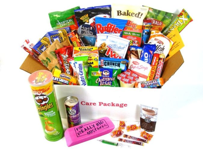 candies How to Choose Birthday Care Package