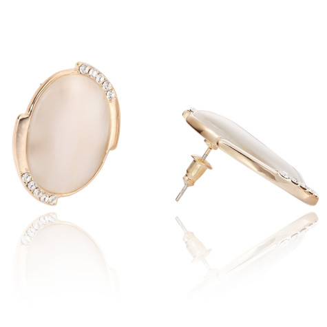 cats-eye-earrings-cats-eye-stud-earrings-oval-stud-earrings-white-opal-earrings-opal-stud-earrings-Favim.com-470207-475x475 How To Use Earrings With Straight Hair, Tied or with Veil