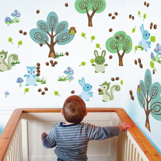 chalkframecabinet_1 Amazing and Catchy Wall Stickers for Home Decoration