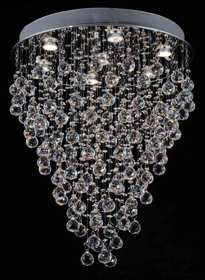 chandeliers-lighting12 Awesome and Dazzling Suspended Ceiling Decorations